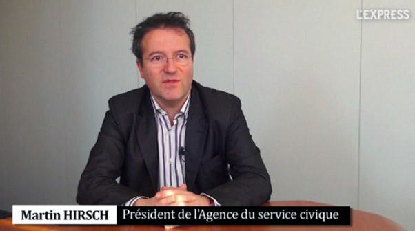 Interview de Martin Hirsch, président de l'Institut du Service Civique
