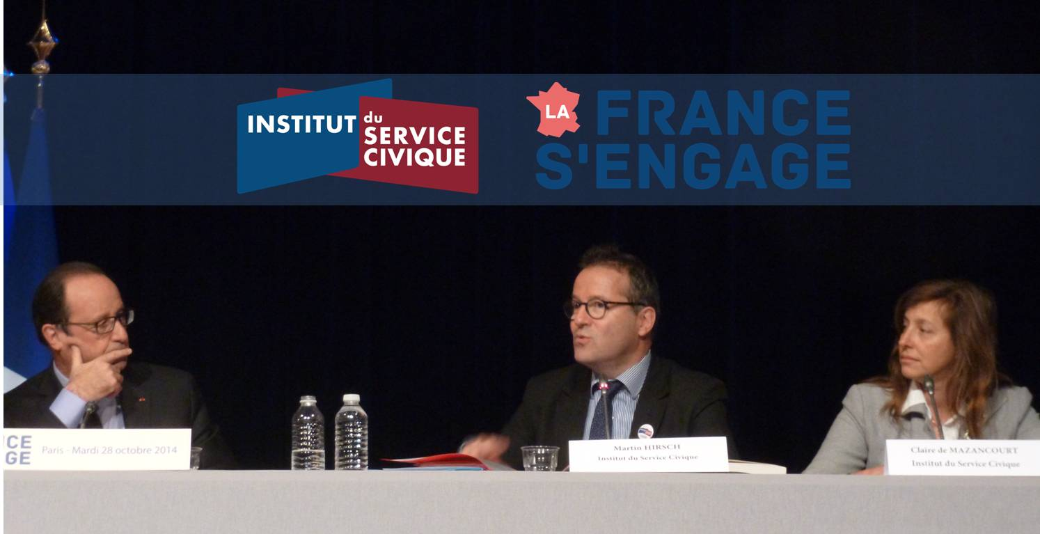 François Hollande, Martin Hirsch et Claire de Mazancourt