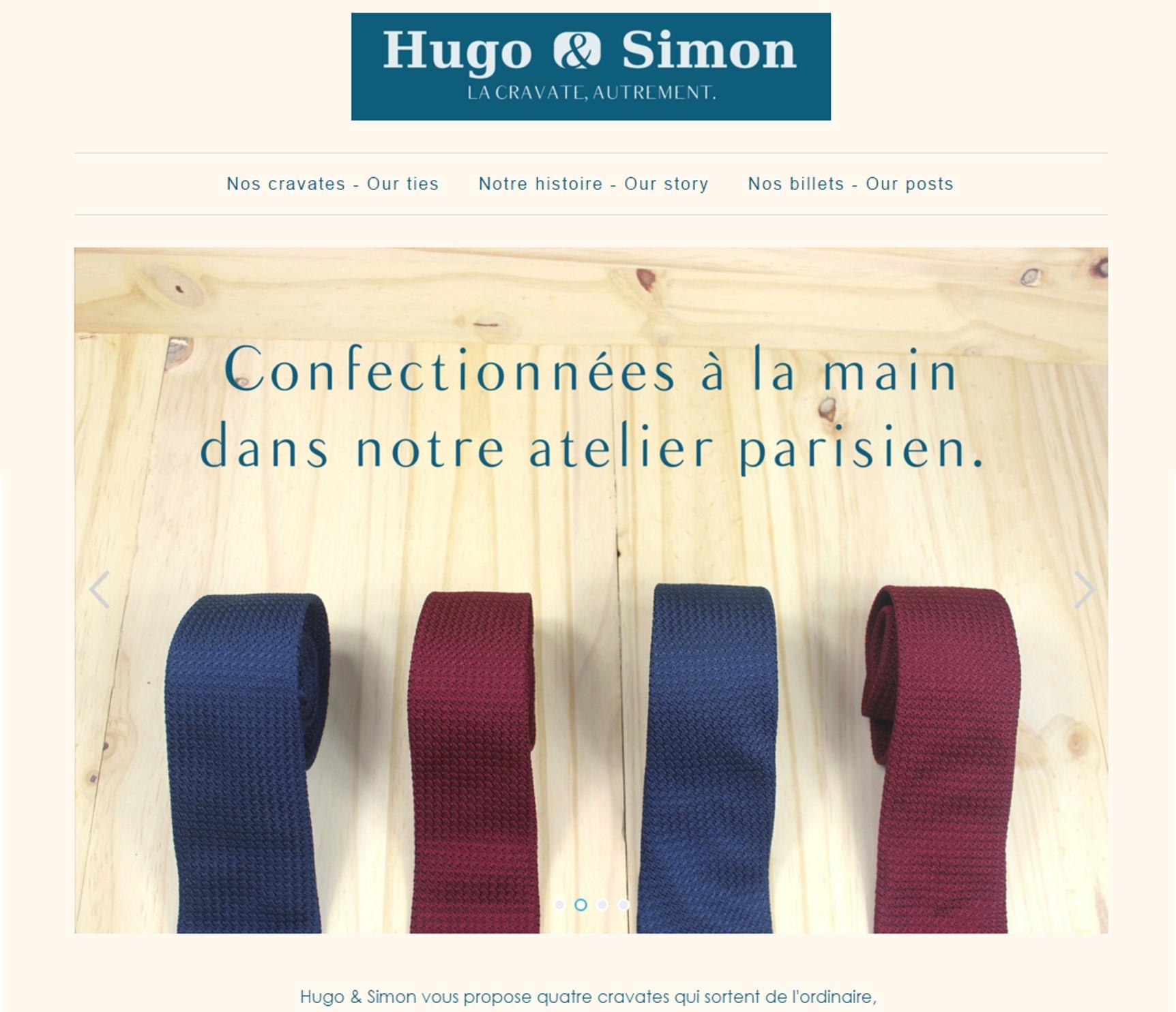 Hugo et Simon Site