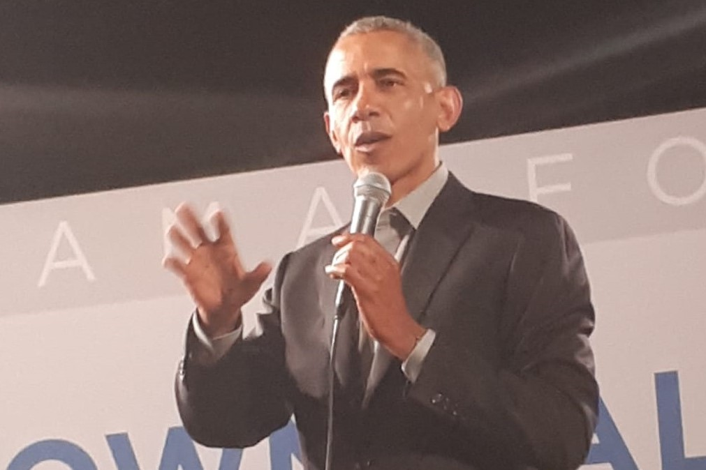 "Au Obama Town Hall Europe, avec les ""young emerging leaders"""